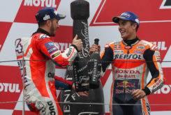 Andrea Dovizioso Marc Márquez podio GP Japon MotoGP 2017