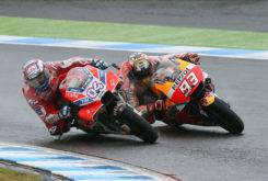 Andrea Dovizioso Marc Marquez GP Japon MotoGP 2017 carrera