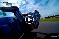 Caida Maverick Vinales GP Australia MotoGP 2017