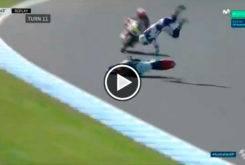 Caida Romano Fenati FP1 Moto3 Australia 2017 01