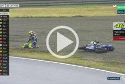 Caida Valentino Rossi MotoGP Japon 2017 01