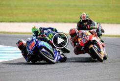 Carrera GP Australia MotoGP 2017 Resumen 01
