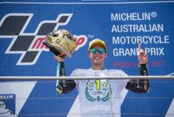 Joan Mir Campeon Mundo Moto3 Australia 2017