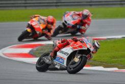 Jorge Lorenzo Marc Marquez Andrea Dovizioso GP Malasia MotoGP 201712
