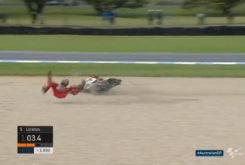 Jorge Lorenzo caida GP Australia MotoGP 2017