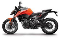 KTM 790 Duke 2018 Color naranja 1