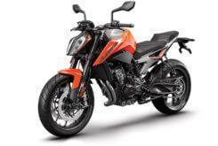 KTM 790 Duke 2018 Color naranja 3