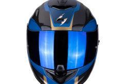 MBKScorpion exo 1400 air carbon esprit blue front