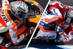 Marc Marquez Andrea Dovizioso GP Australia MotoGP 2017