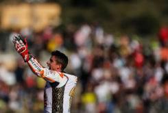 Marc Marquez Campeon Mundo MotoGP 2017 celebracion