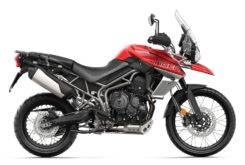 Triumph Tiger 800 XCA 2018 Color Rojo 6