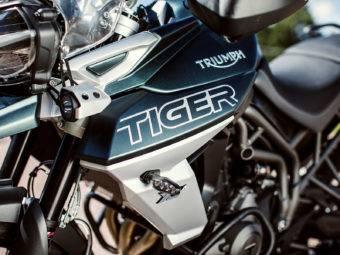 Triumph Tiger 800 XCA 2018 Fotos detalle 1
