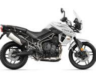 Triumph Tiger 800 XR 2018 Color Blanco 6