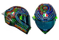 Valentino Rossi Casco AGV Pista GP R test