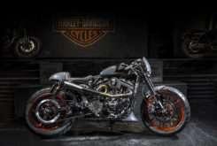 Custom King 2017 Harley Davidson Perugia Italia Bombtrack