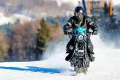 Harley Davidson Sportster Roadster de nieve Banka Bystrica 01