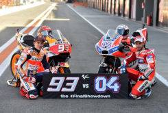 Marc Marquez Andrea Dovizioso MotoGP 2017