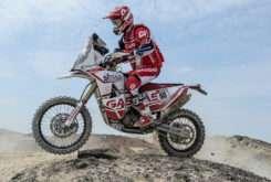 Jonathan Barragan Dakar roadbook 11