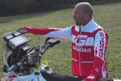 Jonathan Barragan Dakar roadbook 14