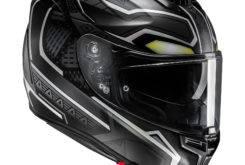 HJC rpha 70 Black Panther 4