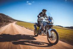 Honda Africa Twin Adventure Sports 2018 pruebaMBK 109