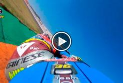 Joan Mir video on board Valencia Kalex Moto2 01