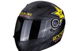 MBKScorpion exo 490 rockstar metal black yellow red