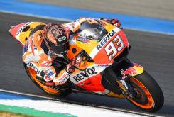 Marc Marquez Test Tailandia MotoGP 2018