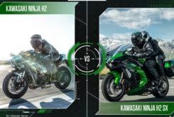 kawasaki ninja h2 vs h2 sx mbk38
