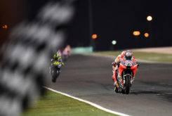 GP Qatar MotoGP 2018 carrera Andrea Dovizioso Marc Marquez