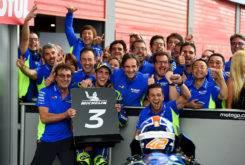Alex Rins podio MotoGP Argentina 2018