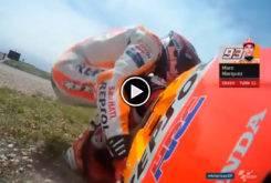 Caida Marc Marquez MotoGP Austin 2018 01