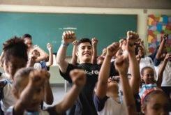 Marc Marquez Escuela Brasil UNICEF 2