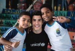 Marc Marquez Escuela Brasil UNICEF 5
