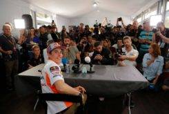 Marc Marquez rueda prensa MotoGP Austin 2018