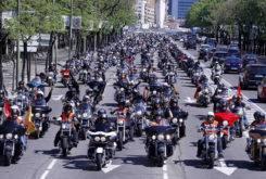 Ruta por Madrid Harley Davidson 2013