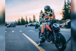 KTM 790 Duke Pikes Peak 2018 test
