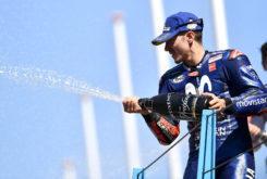 Maverick Vinales podio MotoGP Assen 2018