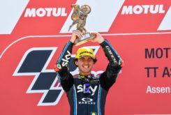 Pecco Bagnaia victoria Moto2 Assen 2018