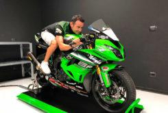 Hector Barbera Supersport 2018 Kawasaki Pucetti