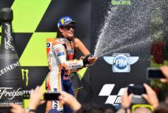 MBK Marc Marquez podio MotoGP Brno 2018