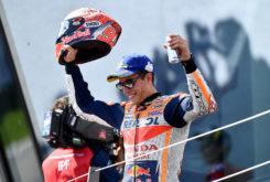 Marc Marquez podio MotoGP Austria 2018