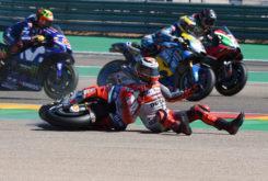 GP Aragon 2018 Lorenzo caida 5