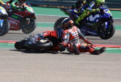 GP Aragon 2018 Lorenzo caida 6