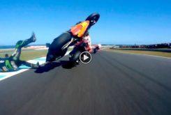 Johann Zarco Marc Marquez MotoGP Australia 20181