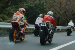 Marc Marquez Winding Riding Turnpike Hakone
