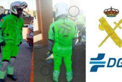 Trajes antiatropello guardia civil fluorescente DGT