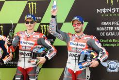 MBK Jorge Lorenzo Andrea Dovizioso MotoGP 2018