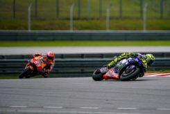 Valentino Rossi Marc Marquez MotoGP Malasia 2018