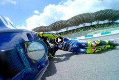 Valentino Rossi caida MotoGP Malasia 2018